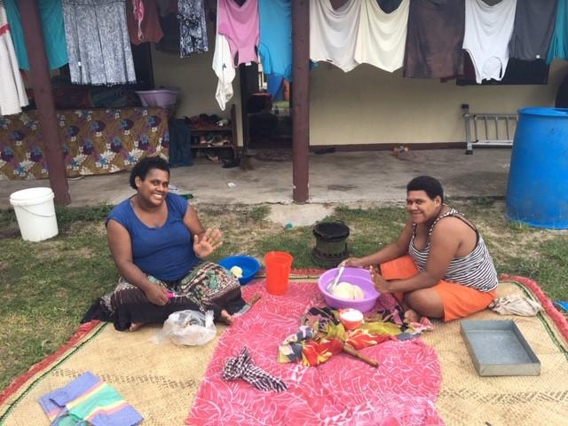 preparing food in fiji native woman - Fiji Kindergarten Lautoka Volunteering Feedback