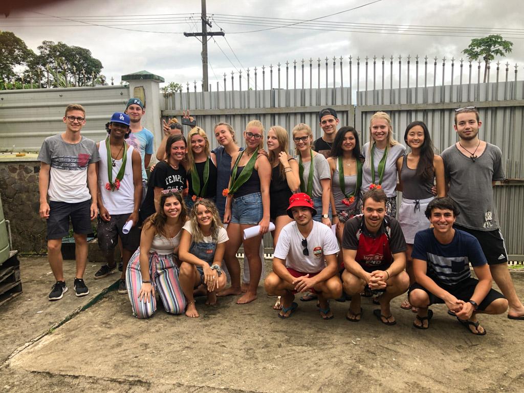 Group of IVI volunteers