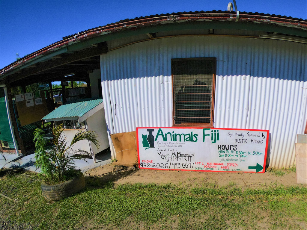 Fiji animal shelter