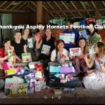 Thank-you for the donations Aspley Hornets Football Club