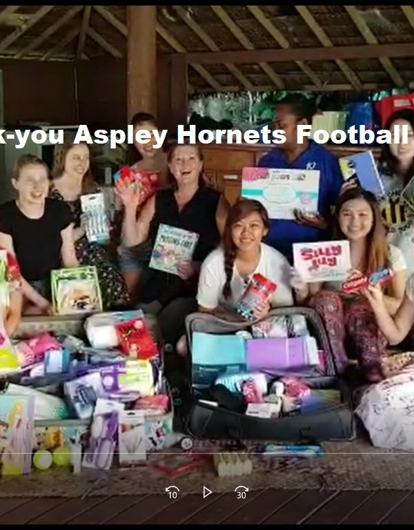 aspley hornets thank you 600x768 - Thank-you for the donations Aspley Hornets Football Club
