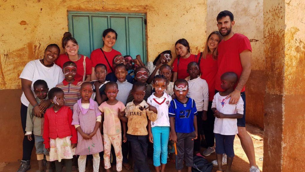 teaching in kenya with IVI