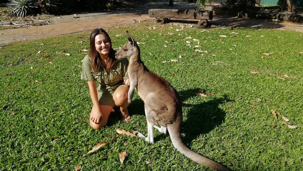 Australian zoo volunteering (2)