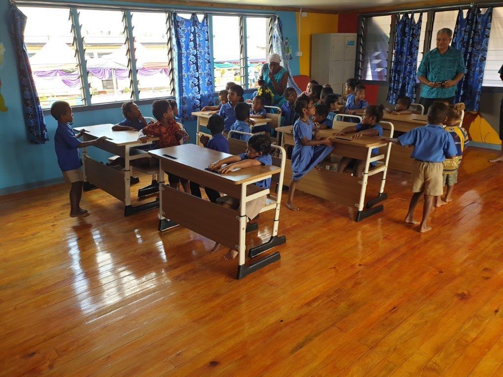 Beautiful new Kindergarten IVI Fiji 1024x768 - Thank-you GJ Gardner Homes & TAFE QLD for helping rebuild this Kindergarten in Fiji!