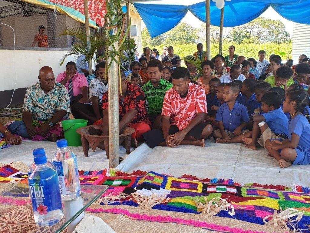 HART community Lautoka preparing Kava in thanks
