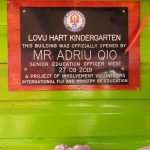 Thank-you GJ Gardner Homes & TAFE QLD for helping rebuild this Kindergarten in Fiji!