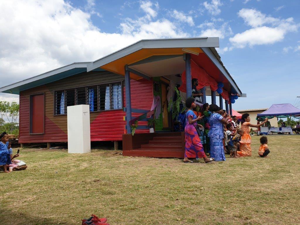 Thanks to GJ Gardner Homes NZ for Donating this Kindergarten in Fiji through IVI!