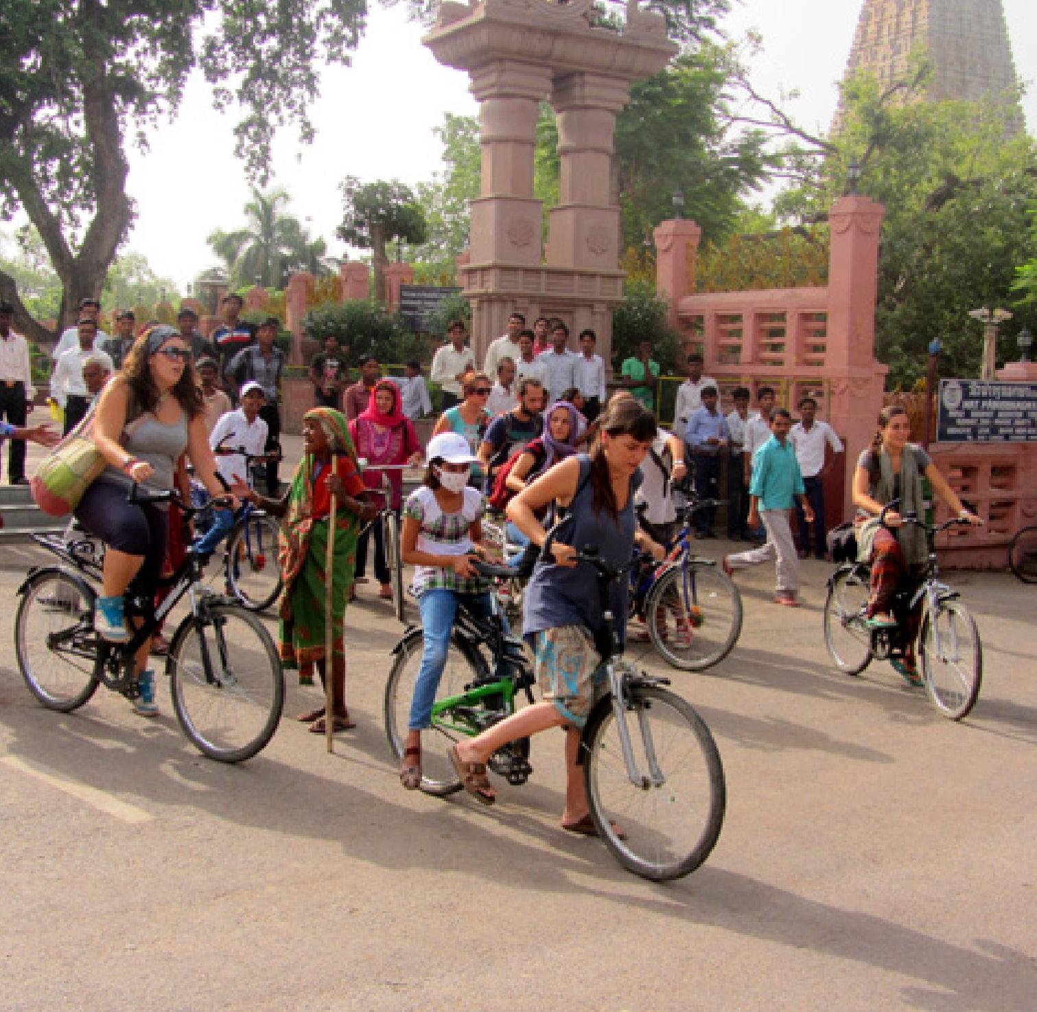 volunteer in Bodhgaya India