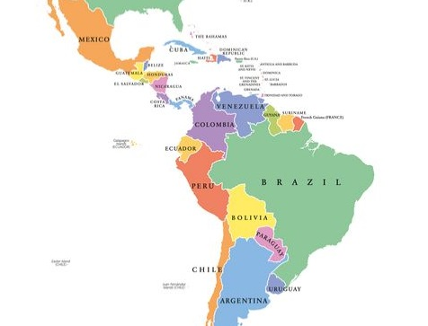 latin america map - Overseas Volunteer Programs