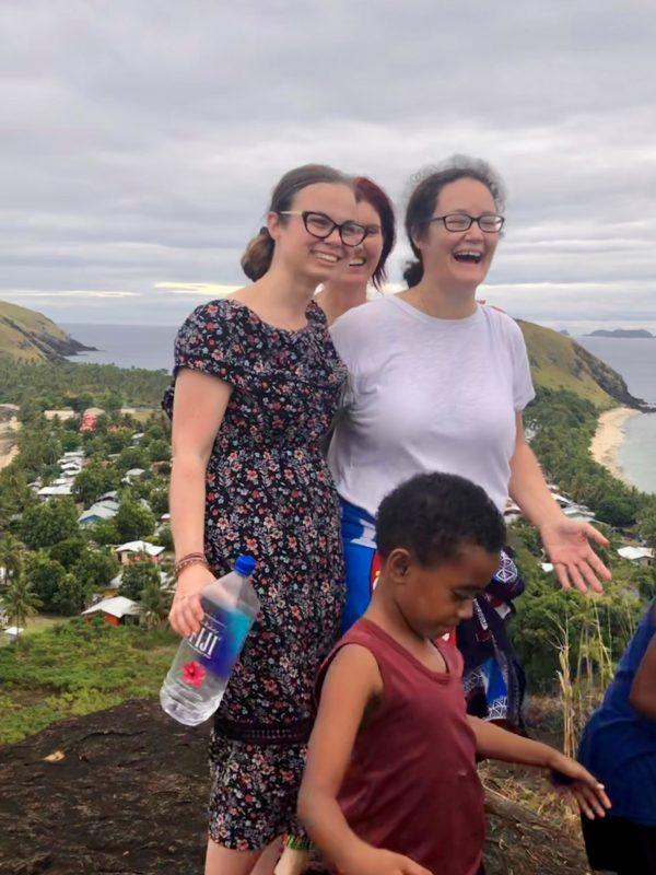 Fiji remote island volunteer