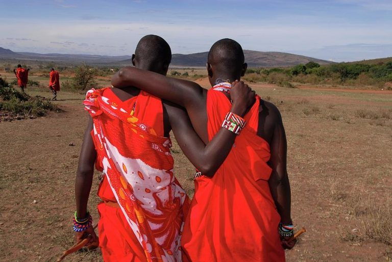 maasai mara men 768x514 - Kenya