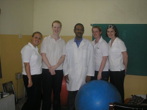 physiotherapists in Ghana program