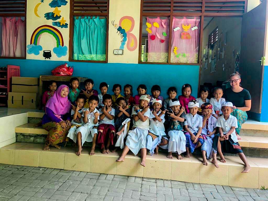 Class of Baliense children