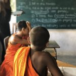 Teaching English to Buddhist Monks