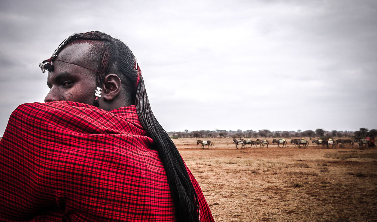 Man from Maasai tribe