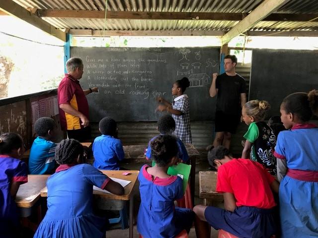 Vanuatu teaching review