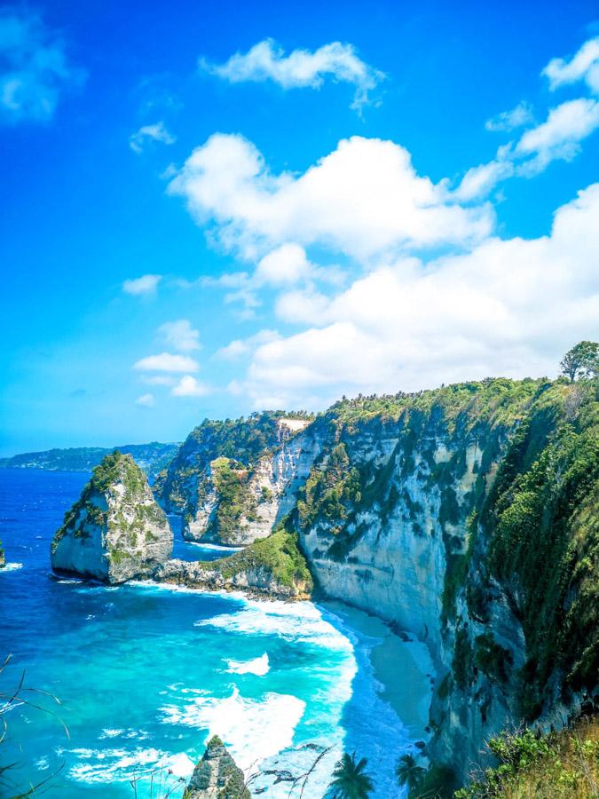 Viewpiont over ocean in Bali-2