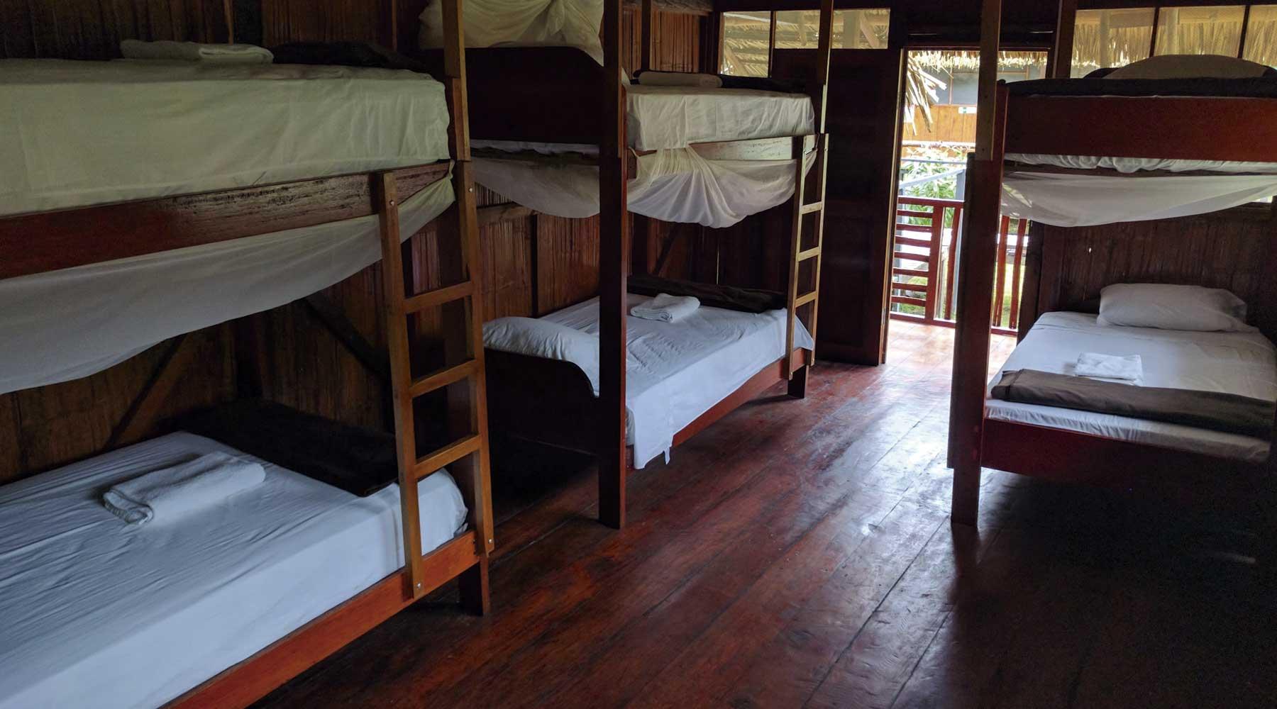bunk beds peru