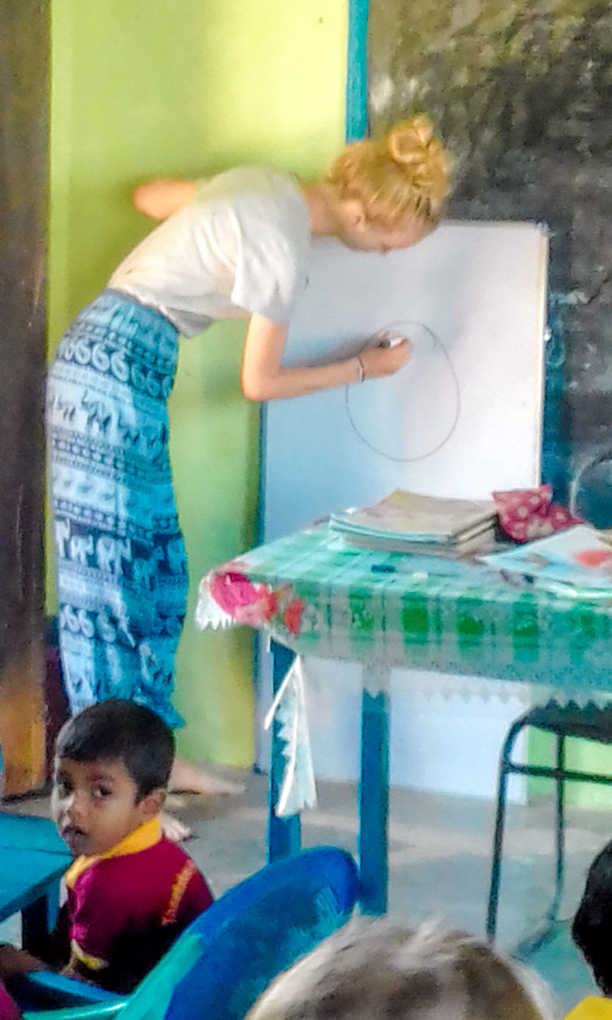 pre school teaching Sri Lanka