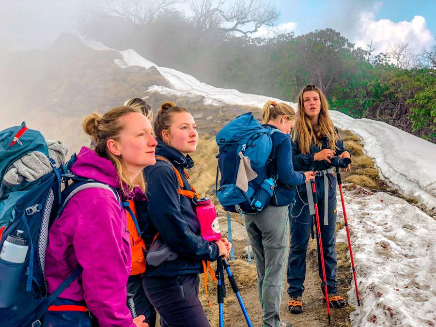 trekkers in Nepal - Mardi Himal Trek in Nepal: A hidden gem