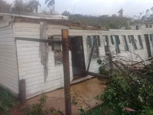 cyclone harold damage of building