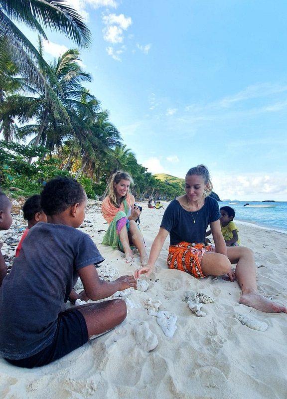 IVI Volunteer Lauren in Fiji