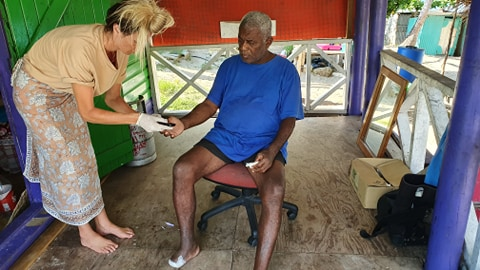 nutrition project in Fiji