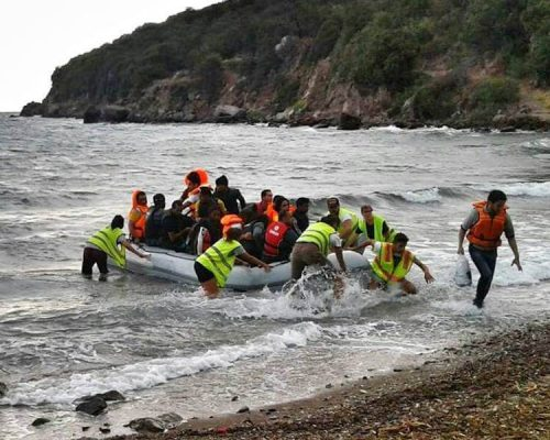 syrian refugee crisis greece