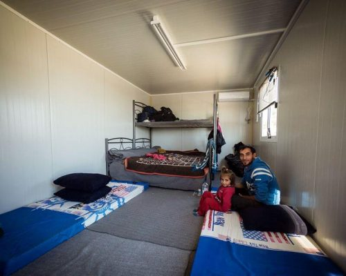 syrian refugee temporary residence