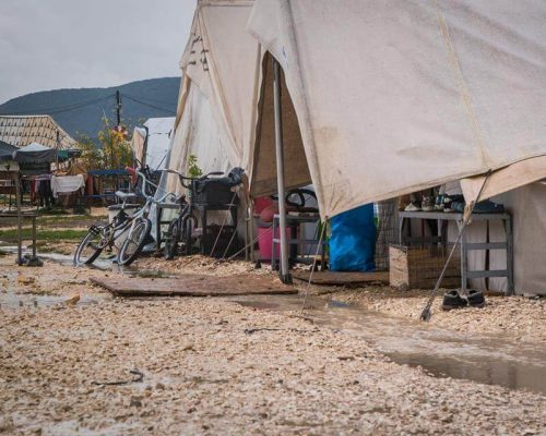 refugee residence in greece