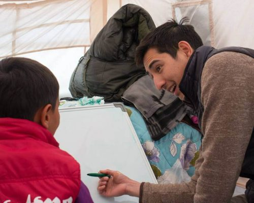 greece helping syrian refugee communities