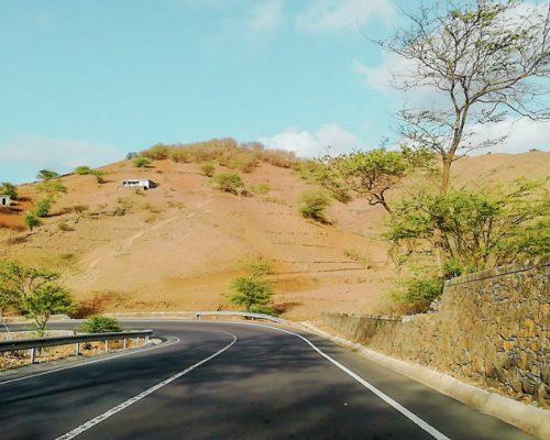Cape Verde road
