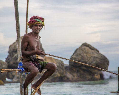 Ambalangoda - Sri Lanka- fisherman