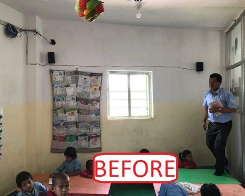 Before refurbishment kindergarten