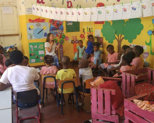 Cape Verde teaching project