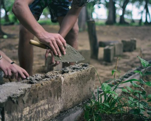 rebuilding a school in philippines