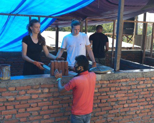 Kathmandu Nepal community construction program for volunteers overseas