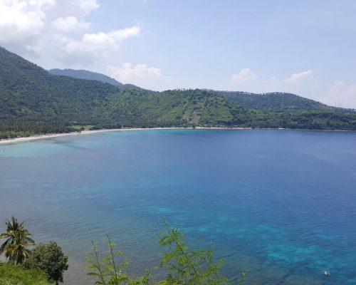 clean clear blue water