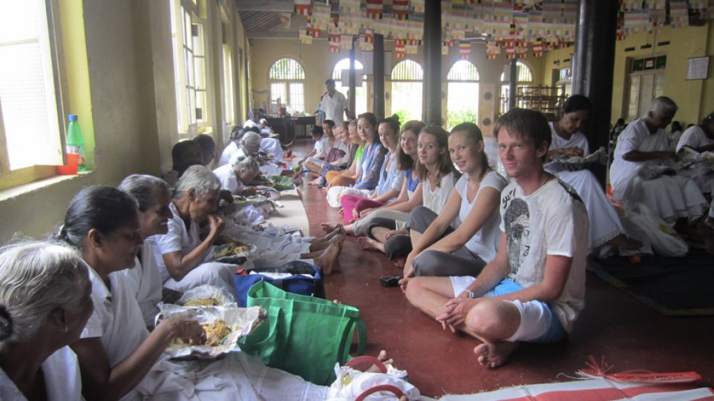 community project in Kandy