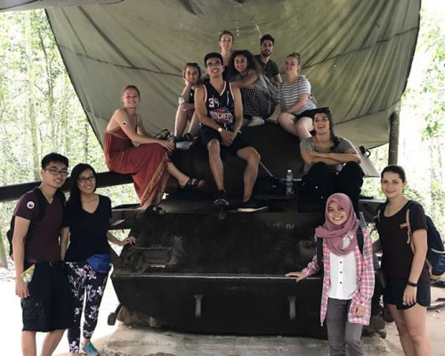 Cu CHi Tunnel - Group photo