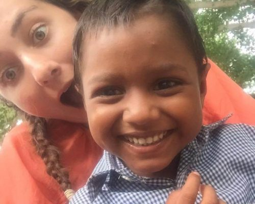 life changing experience volunteering in India