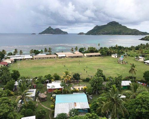 remote island on Fiji