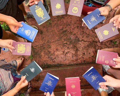 volunteers passports