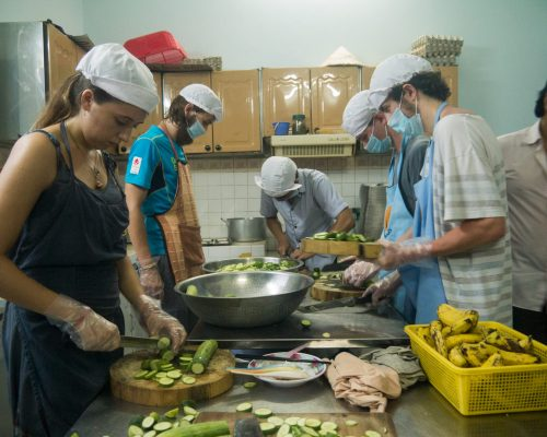 volunteer food kitchen project ho chi minh