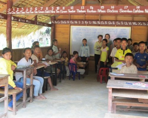 imagine yourself teaching in this classroom in cambodia!