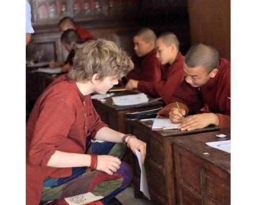buddhist monestry teaching