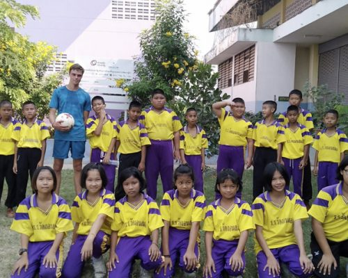 Group photo of kids