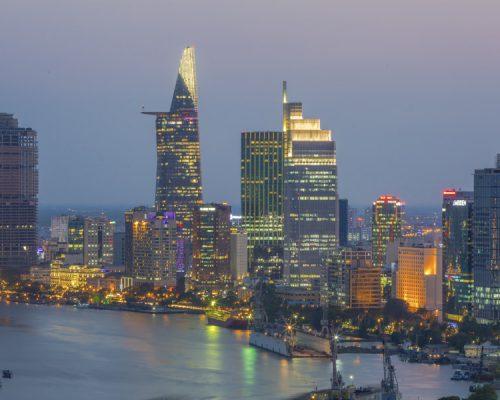 _Ho Chi Minh City Skyline