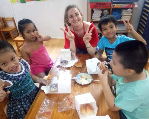 volunteer at the kindergarten in ho chi minh