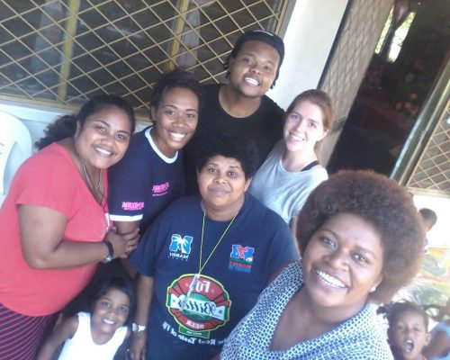 the crew at the childrens home fiji
